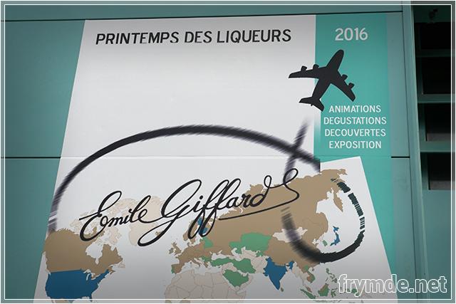 Affiche Giffard Printemps des Liqueurs 2016